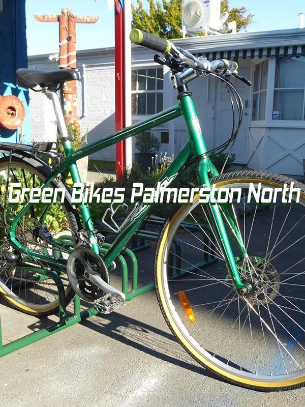 Green Bikes Palmerston North